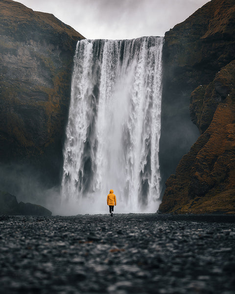Skogafoss Waterfall in Iceland - photographer by Ryan Ditch