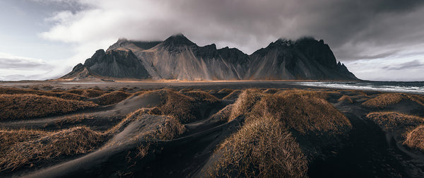 Vestrahorn in Iceland - photographed by Ryan Ditch