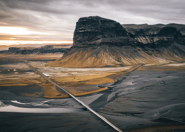 The Road to Vik Iceland - Photographed by ryan ditch
