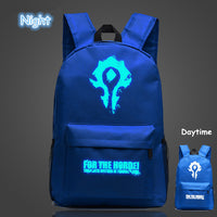 WOW For The Horde World Of Warcraft Backpack