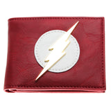 DC Comics The Flash Red Bi-Fold Wallet