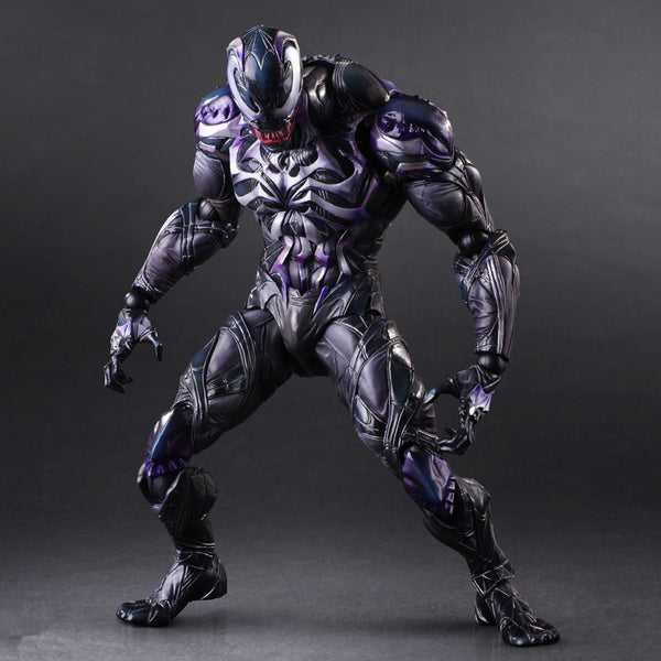 Venom Play Arts Kai Action Figure Model Toy 260mm
