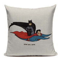 Superheroes Pillow