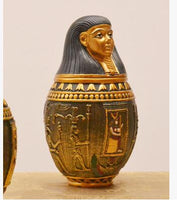 Egyptian decoration storage jars