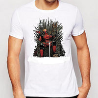 Deadpool on the Iron Throne T-Shirt