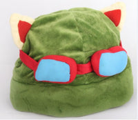 League of New Legends Teemo cosplay CAP