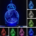 Star war BB 8 LED Lamp !