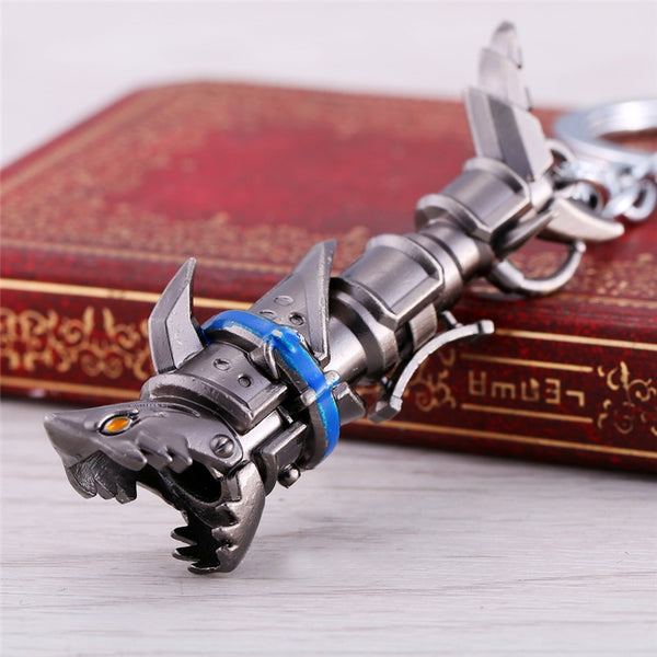 League of Leagends Jinx Weapon Keychain