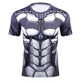 New Fitness Compression Shirt Men Anime Superhero Punisher Skull Captain America Superman 3D T Shirt Crossfit tshirt