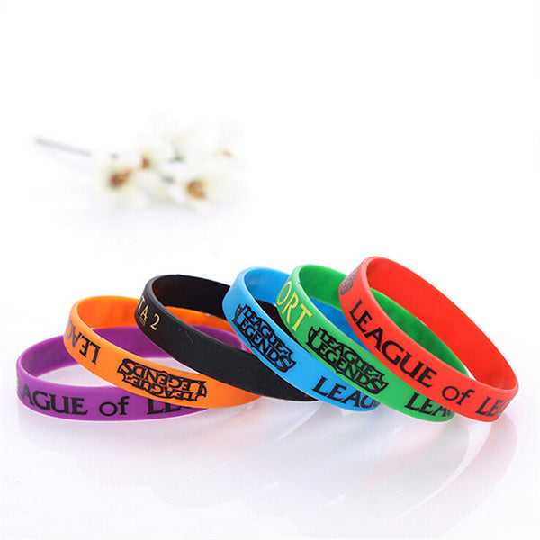 LOL League of Legends Luminous Silicone Wristband Bracelet
