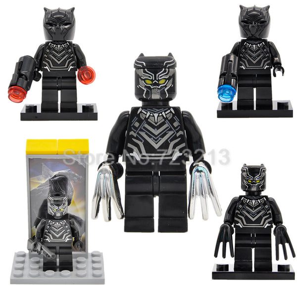 LEGO Marvel Super Heroes Minifigure - Black Panther T'Challa