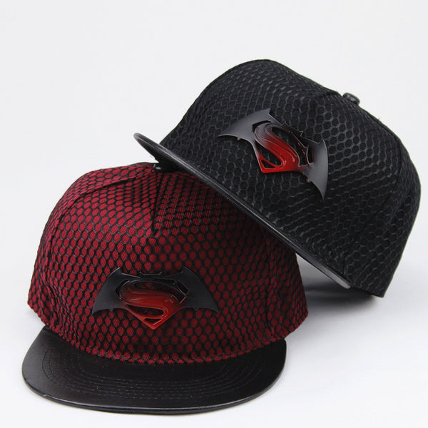 Superman VS Batman Snapback Hats