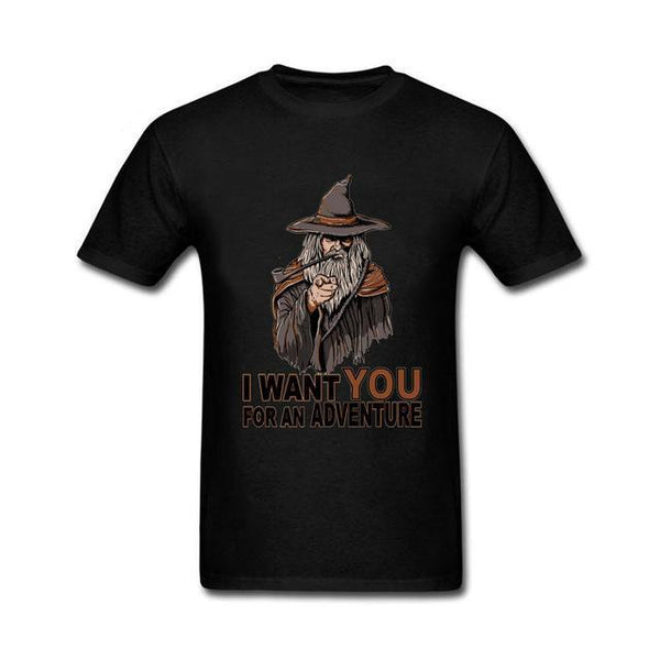 Lord of The Rings Gandalf Cartoon T-Shirt