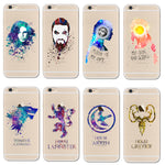 Watercolor art Game Of Thrones case