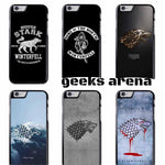 Game of Thrones GOT House Stark Cover Case++