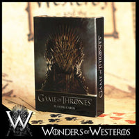Game of Thrones Poker Playing Card