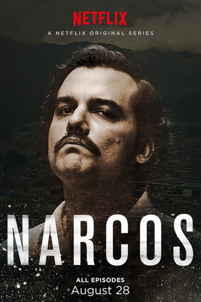 Netflix TV Shows - Narcos Poster