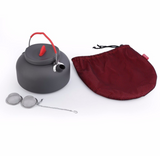 1.4L Camping Teapot/ Kettle with Tea Ball Infuser