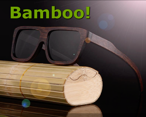 Polarized Natural Bamboo (Floating) Sunglasses