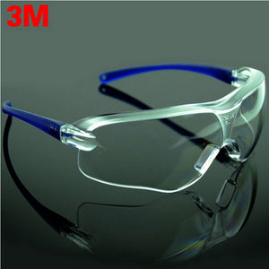 3M 10434 Safety Glasses Goggles Anti-wind Anti sand Anti Fog Anti Dust Resistant Transparent