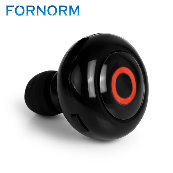 Mini Invisible Stereo Bluetooth Earphone. Wireless With Mic Noise Cancelling