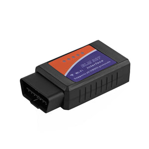 Auto Diagnostic Scanner, Mini ELM327 Wireless WiFi OBD2 OBD2 Code Reader Compatible with iPhone IOS Android Windows Apple, for all cars
