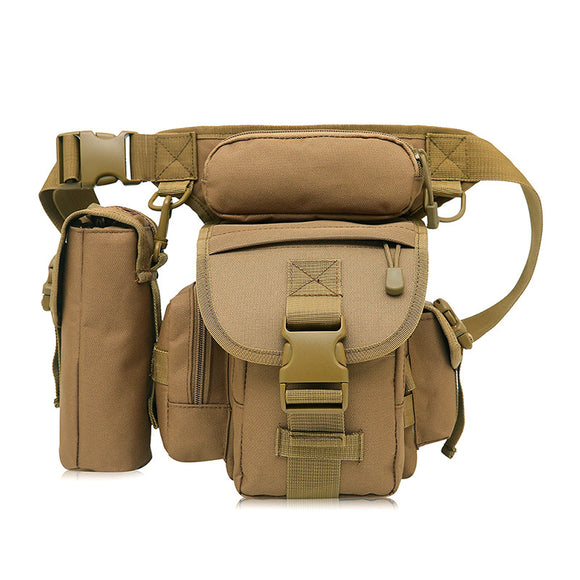 Military Tactical Multi-Purpose Leg Strap Bag assorted Colors/Camo