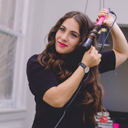Volume Curling Iron - Pink
