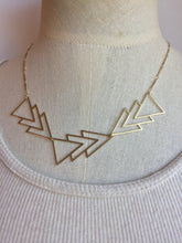 Brass Angles Necklace