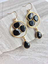 Onyx Trio Earrings