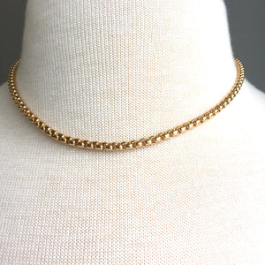 JPeace Designs Thick Gold Chain — Choker Necklace