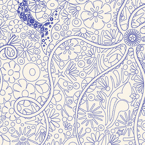 Pearl in Agean from Diving Board by Alison Glass for Andover Fabrics