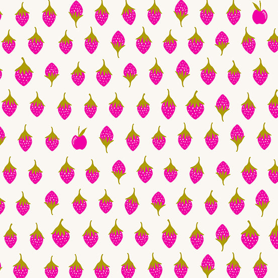 Apples in Sweet from Road Trip by Alison Glass for Andover Fabrics