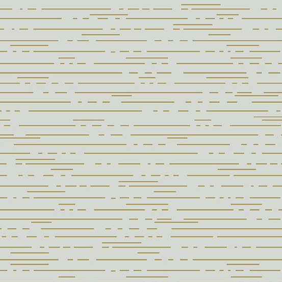 Dashes in Dust Metallic from Greatest Hits Vol 1 by Libs Elliott for Andover Fabrics