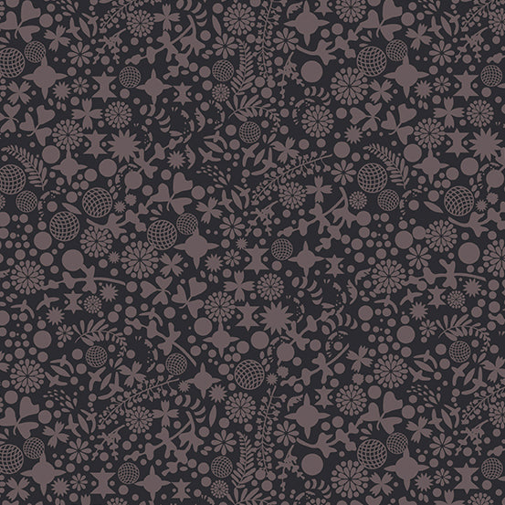 November Preorder/Deposit- Endpaper in Charcoal from Art Theory by Alison Glass for Andover Fabrics
