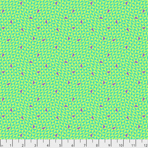 Hourglass in Guava from Monkey Wrench by Tula Pink for Freespirit Fabrics