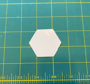 1 inch Hexagon EPP pieces, Pack of 100
