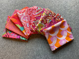 Red/Orange/Pink Fabric Bundle
