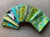 Green/Blue Fabric Bundle