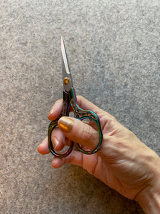 Ornate Medium Rainbow Thread Snips