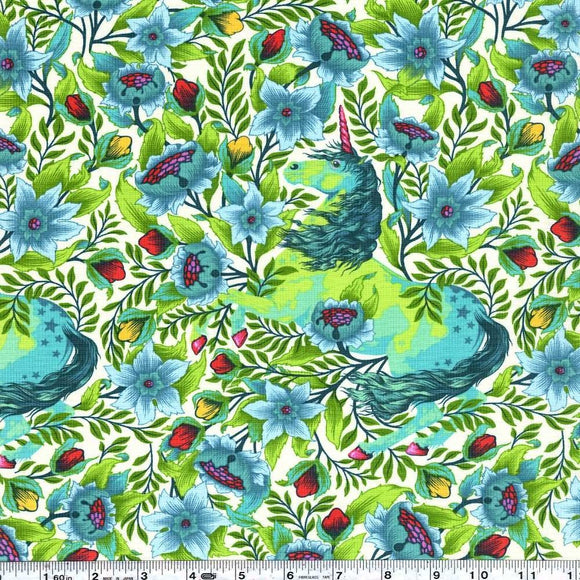Imaginarium in Frolic from Pinkerville by Tula Pink for Freespirit Fabrics