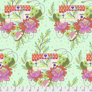 Pedal to the Metal in Morning from Homemade by Tula Pink for Freespirit Fabrics