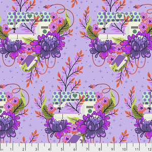 Pedal to the Metal in Night from Homemade by Tula Pink for Freespirit Fabrics