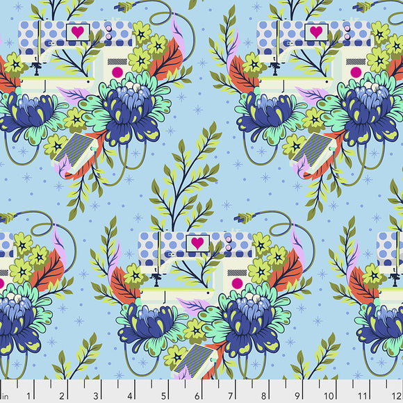 Pedal to the Metal in Noon from Homemade by Tula Pink for Freespirit Fabrics