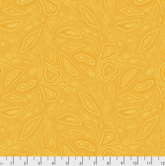 Mineral in Amber from True Colors by Tula Pink for Freespirit Fabrics