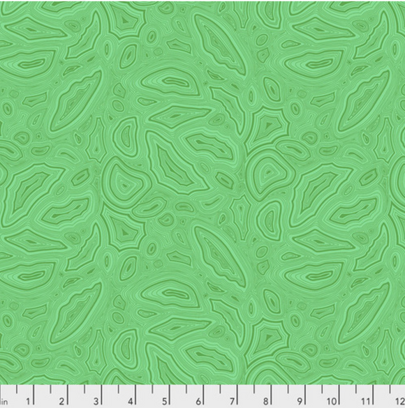 Preorder/Deposit- Mineral in Emerald from True Colors by Tula Pink for Freespirit Fabrics
