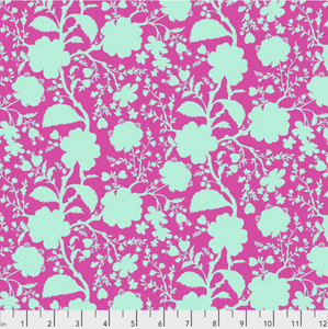 Wildflower in Azalea from True Colors by Tula Pink for Freespirit Fabrics