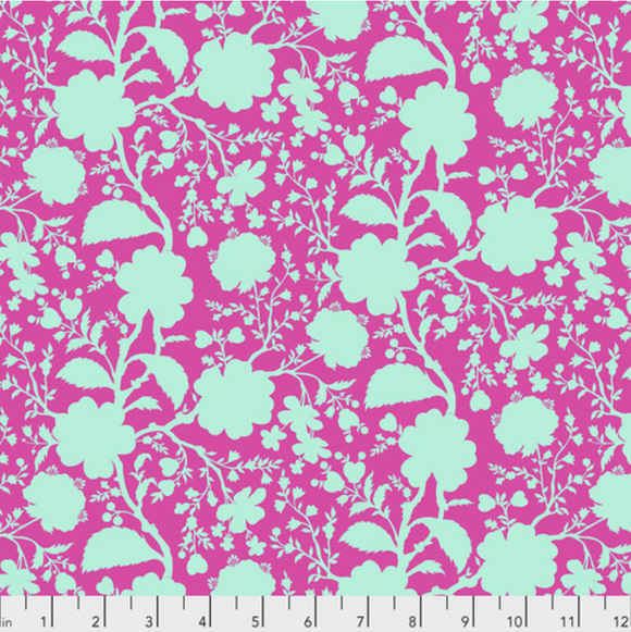 Preorder/Deposit- Wildflower in Azalea from True Colors by Tula Pink for Freespirit Fabrics