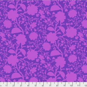 Wildflower in Dahlia from True Colors by Tula Pink for Freespirit Fabrics