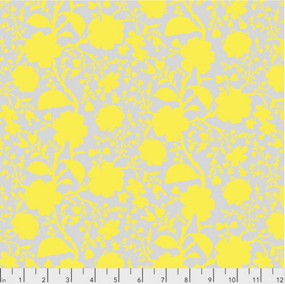 Wildflower in Daisy from True Colors by Tula Pink for Freespirit Fabrics